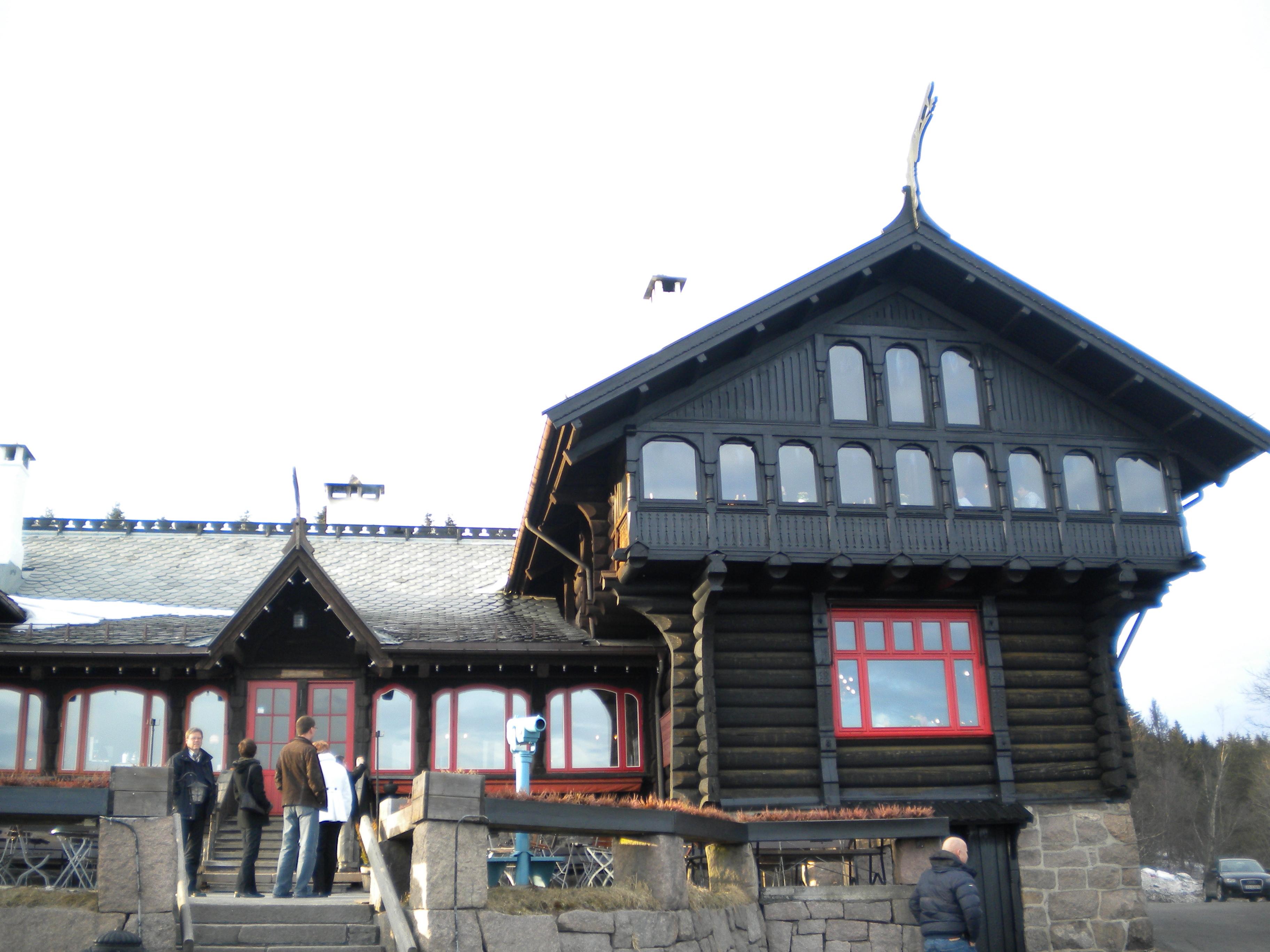 Holmenkollen cafe